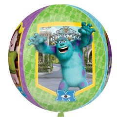 Balon Folie Orbz Sfera Monsters University, 38 x 4 0 cm, Amscan 28401, 1 buc