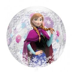 Balon Folie Orbz Sfera Frozen, 38x40cm, 301870