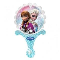 "Balon Mini Folie Inflate-a-Fun ""Anna si Elsa"" Frozen, Amscan, 28163"