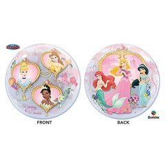 "Balon Bubble 22""/56cm Qualatex, cu Printese Disney, 29164"