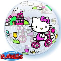 "Balon Bubble 22""/56cm Qualatex, Hello Kitty, 19871"