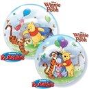"Balon Bubble 22""/56cm Qualatex, Winnie the Pooh & Prietenii, 33086"