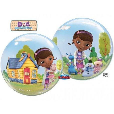 """Balon Bubble 22""""/56cm Qualatex, Doctorita Plusica, 66575"""
