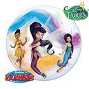 """Balon Bubble 22""""/56cm Qualatex, Tinkerbell si Disney Fairies, Qualatex, 92784"""