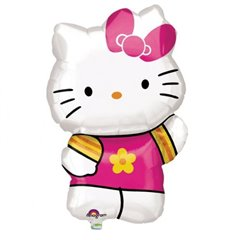 Balon Folie Figurina Hello Kitty, Amscan, 41x63 cm, 27476