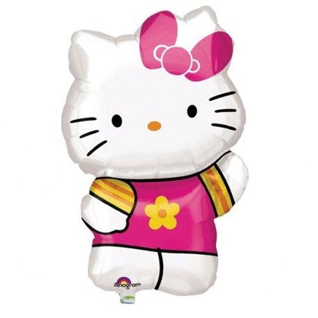 Balon Folie Figurina Hello Kitty, Amscan, 41x63 cm, 27476