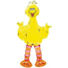 Balon folie figurina airwalkers Big Birds - 160cm, Amscan 08358
