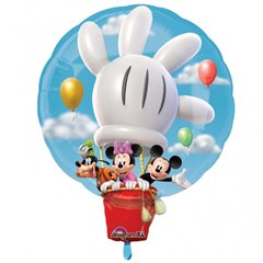 Balon Folie Figurina Mickey in Balon, Amscan, 58X71cm, 18298