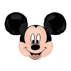 Balon Folie Figurina Cap Mare Mickey, 69X53 cm, 31548 ST