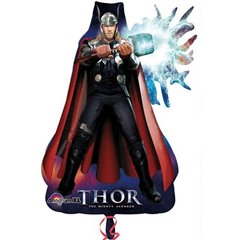 Balon Folie Figurina Thor, Amscan, 84 cm, 22297
