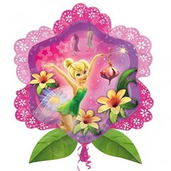 Balon Folie Figurina Tinkerbell Disney Fairies, 63X69 cm, 27339