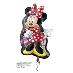 Balon Folie Figurina Minnie, 48x81cm, 26374