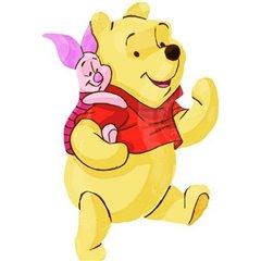 Balon Folie Figurina Disney Winnie the Pooh si Prietenii - 81 cm, Amscan 22924ST