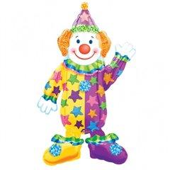 Balon folie figurina Airwalker Clovn, 07662