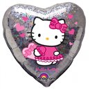 Balon Folie 45 cm Inima Hello Kitty Love, Amscan 17292