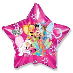 Balon Folie Figurina Stea Winx, 306501