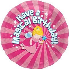 "Balon Folie 45 cm ""Have a magical birthday"" 00799"