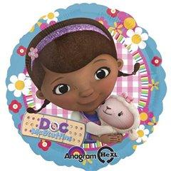 Balon Folie 45 cm Doc McStuffins, Doctorita Plusica, Amscan 27533