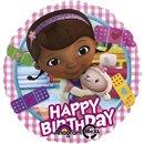 "Balon Folie 45 cm ""Happy Birthday"" Doctorita Plusica, Amscan 27534"