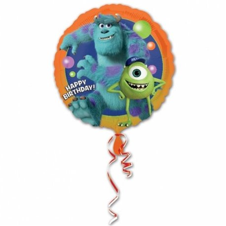 "Balon Folie 45 cm Monsters University ""Happy Birthday"" 26199"