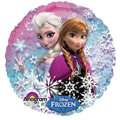 Balon Folie 45 cm Holografic Frozen, Amscan 27552