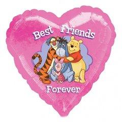 Balon Folie 45 cm Inima Winnie the Pooh 24163