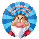 "Balon Folie 45 cm Grumpy ""Happy Birthday"" 25369"