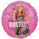 Balon Folie 45 cm Hannah Montana Rocking' Birthday, Amscan 17840