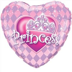 Balon Mini Folie Princess, Qualatex, 23 cm, 32943