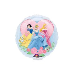 Balon Mini Folie Printesele Disney, 23 cm, 18119