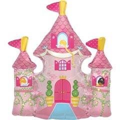 Balon Mini Figurina Castel Printese + bat si rozeta, Northstar Balloons 00814