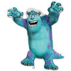 Balon Minifigurina Monsters University Sulley, 23 cm, 26333