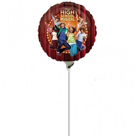 Balon Mini Folie High School Musical, 23 cm, 15113