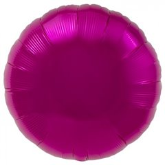 Balon folie magenta metalizat rotund - 45 cm, Northstar Balloons 00731, 1 buc