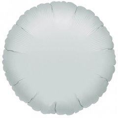 Balon folie argintiu metalizat rotund - 45 cm, Amscan 21584, 1 buc