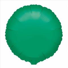 Balon folie verde metalizat rotund - 45 cm, Amscan 20362-40, 1 buc