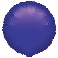 Balon folie violet metalizat rotund - 45 cm, Amscan 21616, 1 buc