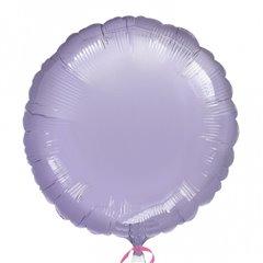 Balon folie lila metalizat rotund - 45 cm, Amscan 21628-40, 1 buc