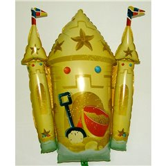 Balon Folie Figurina Castel - 66x89 cm, Amscan 11246