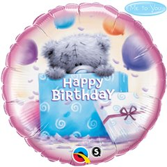 Balon Folie 45 cm Me to You - Birthday Present, Qualatex 20743