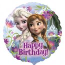 Balon Folie 45 cm Frozen Happy Birthday, Amscan 29009