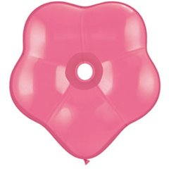 "Balon latex floare, GEO Blossom 6"", Rose, Qualatex 87163, Set 100 buc"