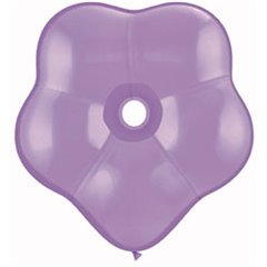 "Balon latex floare, GEO Blossom 6"", Spring Liliac, Qualatex 87164"