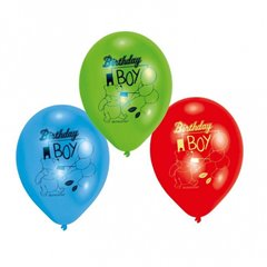 "Baloane latex 8"" inscriptionate Winnie the Pooh Birthday Boy Asortate, Amscan 450247, set 6 buc"