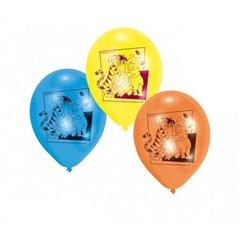 "Baloane latex 8"" inscriptionate Winnie Pooh Asortate, Amscan 450249, set 6 buc"