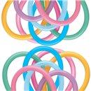"Baloane Latex Modelaj Vibrant Assortment, 2"" x 60"", Qualatex 260Q 13769, set 100 buc"
