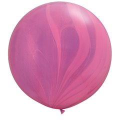 Balon Latex Superagate 30 inch (75 cm), Pink Violet, Qualatex 63758, set 2 buc