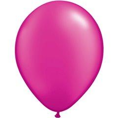 Balon Latex Pearl Magenta 11 inch (28 cm), Qualatex 99350, set 100 buc