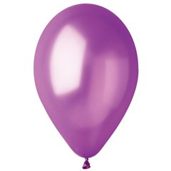 Baloane latex sidefate 26 cm, Purple 34, Gemar GM90.34, set 100 buc