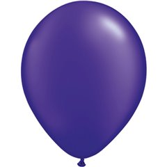 Balon Latex Pearl Quartz Purple 11 inch (28 cm), Qualatex 43784, set 100 buc